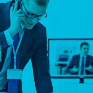 Neuvottelu puhelimitse, Yritykset