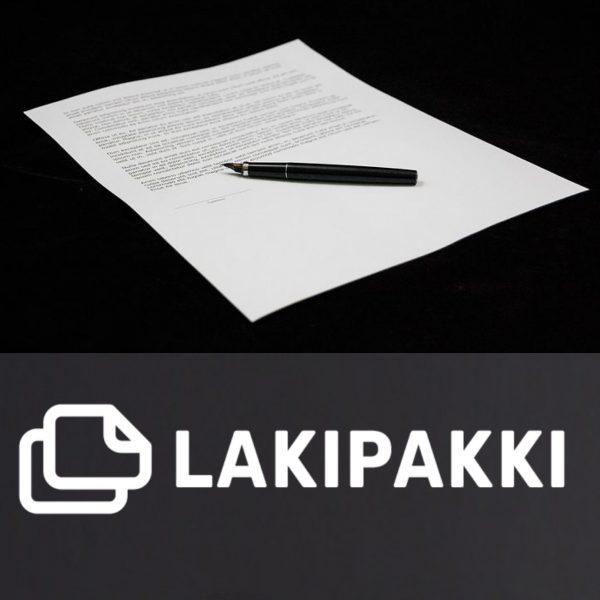 Yritysten lakipakki